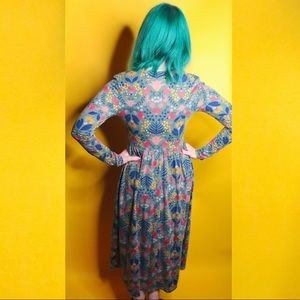 Xhilaration Dresses - Autumn Floral Print Dress